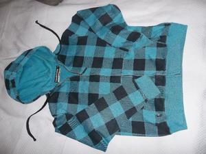 Campera de jogging con capucha talle M - $300 - Macrocentro