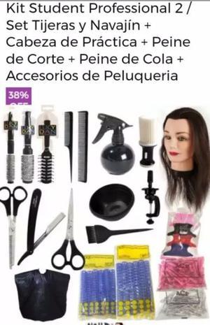 Kit De Peluqueria Para Estudiante
