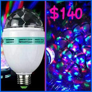 Lámpara LED giratoria