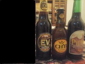 Lote de botellas de cerveza