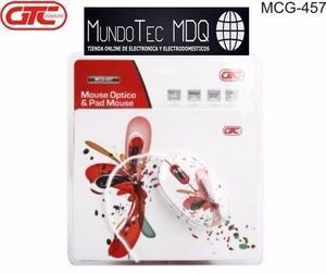 Mouse y Pad GTC MCG-457
