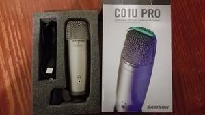 Samson C01u Pro - Micrófono Condenser Para Estudio Con Usb