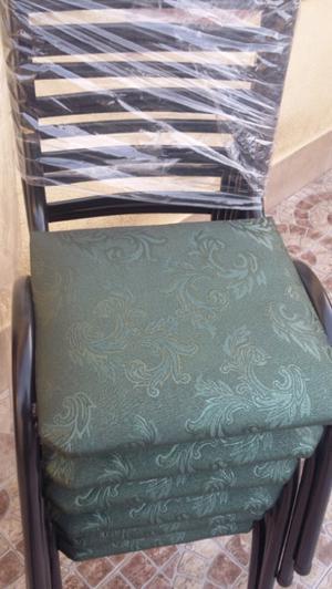 Vendo 6 sillas nuevas sin uso