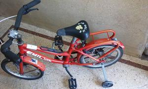 Vendo bicicleta para niñas rodado 14 negociable