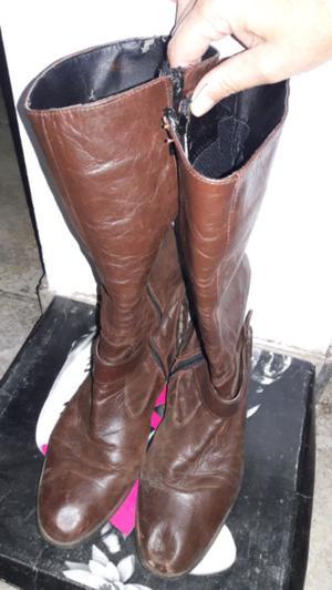 Vendo botas de media caña
