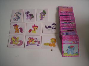 Vendo coleccion completa de 204 figuritas de my little pony