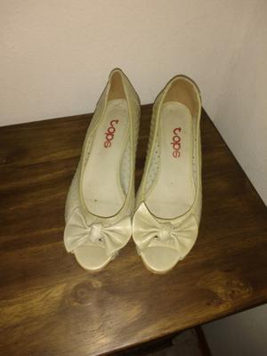 Zapatos beige N°36