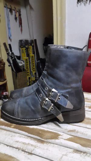 Botas de cuero T36