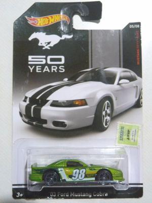 Hot Wheels '03 Ford Mustang Cobra 50 Years (#)