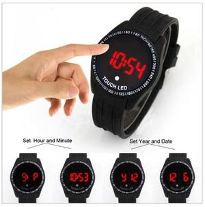 Reloj Pulsera Para Hombre. Digital. Touch Screen. A Pila.