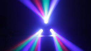 TRITEC LED: Efect LED 20W Led: 72 LEDs (24 rojos, 24 verdes,