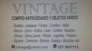 COMPRO OBJETOS ANTIGUOS, VINTAGE, RETRO, DECO.