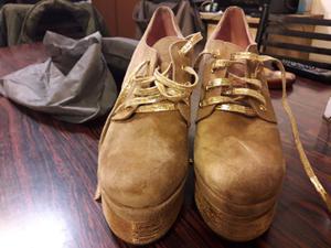 Hermosos zapatos de gamuza impecables