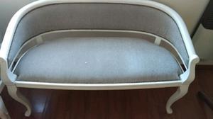 Juego de sillones antiguos estilo Francés.