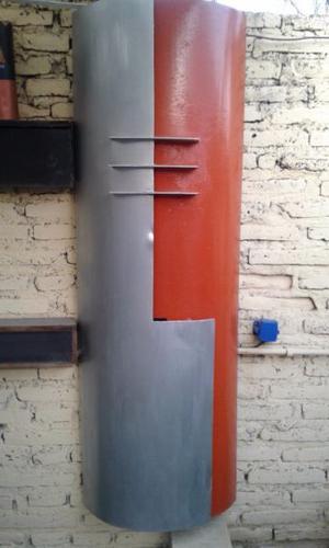 Lámpara p/iluminar pared de hierro