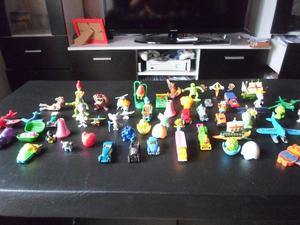 Lote de juguetes kinder y otros