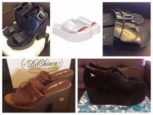 Sandalias y Zapatos mujer Talle  desde $150