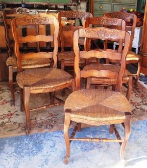 Vendo mesa y seis sillas estilo provenzal posot class - Sillas estilo provenzal ...