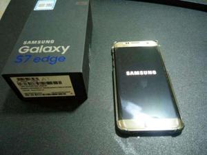 Vendo Samsung s7 edge dorado nuevo libre de fabrica