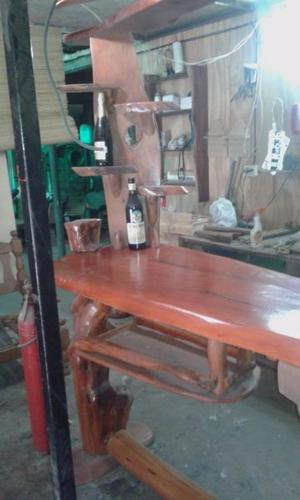 barra bar rustica
