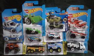 Hot wheels 1:64 variados x 10 nuevos.