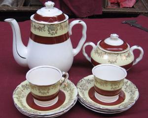 Piezas de juego de café de porcelana inglesa Midwinter