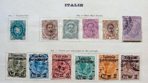 Sellos postales de Italia