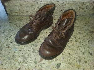 Zapato Borcego de cuero para frío. Nro. 38