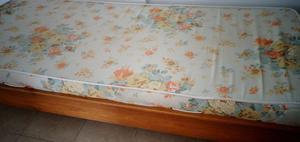 cama + colchon + acolchado