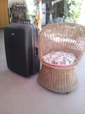 valija o maleta samsonite grande impecable EEUU con 2 llaves