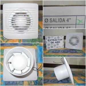 Extractor de aire ba o o cocina 5 pulgadas posot class - Extractor de aire bano ...
