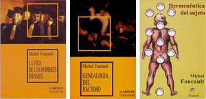Lote X 3 Libros Nuevos Michel Foucault Oferta