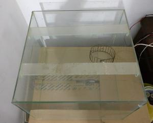 Pecera Terrario Hamsters Jerbos Cobayos 40x40x30