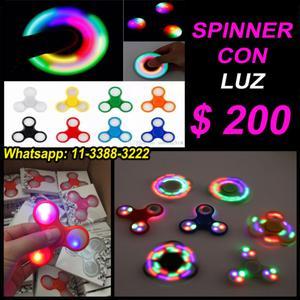 Spinner con luz