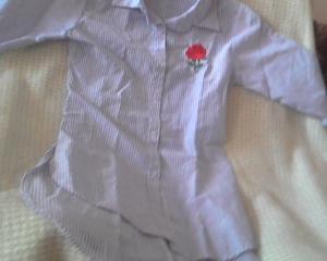 camisa rayada para nena talle 12
