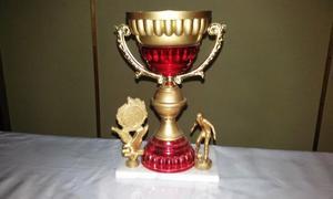 trofeo de 25 cm de alto futbol y otros deportes