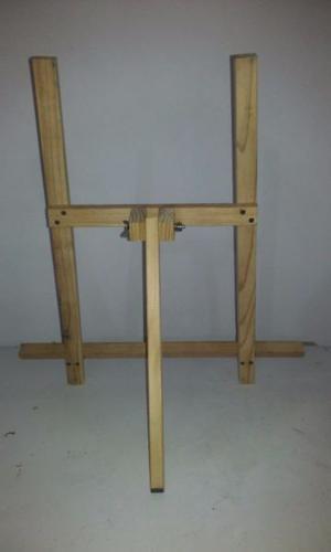 Atril de mesa de pino