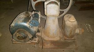 Bomba para extraccion de agua tipo villa con motor