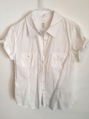 Camisa Mujer H&M talle M Blanca