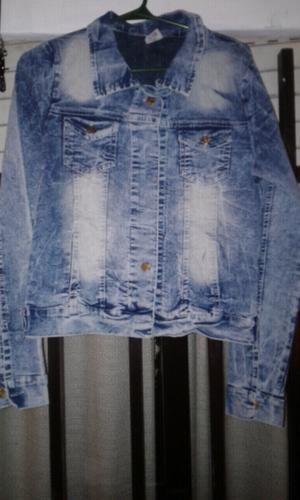 Campera de jeans talle 40