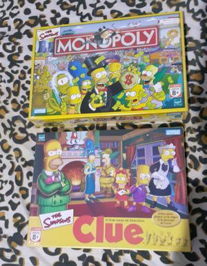 Juego de mesa los Simpsons nuevos cerrados