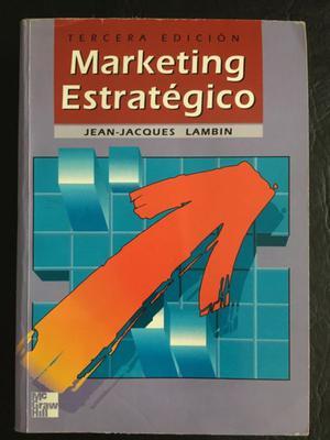 Marketing Estratégico Lambin 3ra Edición