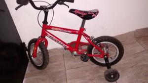 Bicicleta semi nueva rod 12
