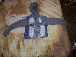 Campera de jeans de nena