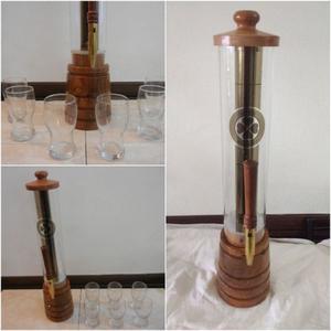 Chopera artesanal de madera 2 Litros