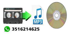Convierto Sus Cassettes A Cd