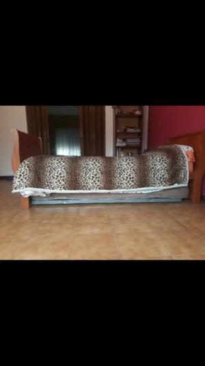 Divan cama con carrito