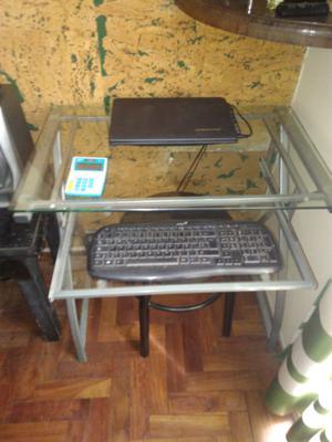 Escritorio de vidrio para PC