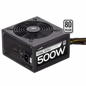 Fuente Sentey 500w 80 Plus Gamer Steel Nitro Single Rail 37a