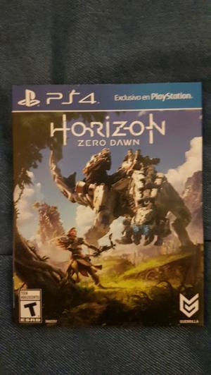 """HORIZON ZERO DAWN"" PS4 nuevo sin uso"